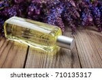 Sage Plant And Perfume On A...
