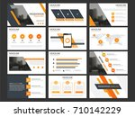 business presentation... | Shutterstock .eps vector #710142229