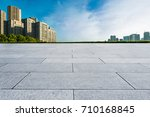 ground roads and the city... | Shutterstock . vector #710168845
