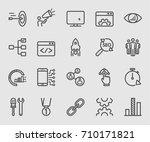internet marketing line icon | Shutterstock .eps vector #710171821
