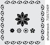 flower vector icon | Shutterstock .eps vector #710172409
