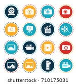 camera icons | Shutterstock .eps vector #710175031