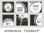 abstract vector layout... | Shutterstock .eps vector #710186197