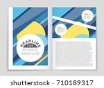 abstract vector layout... | Shutterstock .eps vector #710189317