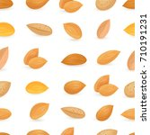 seamless texture with tasty... | Shutterstock .eps vector #710191231