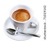 cup of espresso | Shutterstock . vector #71019142