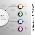 business flyer design. for art... | Shutterstock .eps vector #710206405