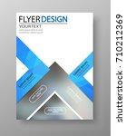 business flyer design. for art... | Shutterstock .eps vector #710212369