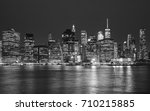 black and white picture of... | Shutterstock . vector #710215885