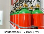 hazard fire suppression system... | Shutterstock . vector #710216791