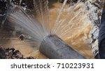upvc pipe burst   Shutterstock . vector #710223931