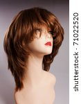 model with the woman wig of... | Shutterstock . vector #71022520