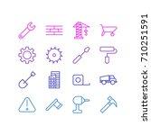vector illustration of 16...   Shutterstock .eps vector #710251591