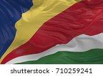 national flag of the seychelles ...   Shutterstock . vector #710259241