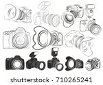 Sketches Of Cameras.