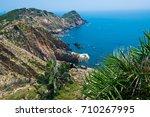 beautiful seascape in quy nhon  ... | Shutterstock . vector #710267995