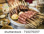 traditional chinese snack on... | Shutterstock . vector #710270257