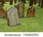 Ancient Weathered Gravestones...