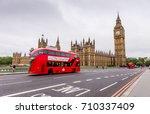 london  uk   july 16  2016  ... | Shutterstock . vector #710337409