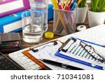 business accounting    Shutterstock . vector #710341081