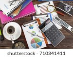 business accounting    Shutterstock . vector #710341411