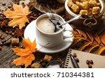 coffee   Shutterstock . vector #710344381