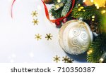 christmas holiday background. | Shutterstock . vector #710350387