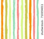 seamless summer color stripe...   Shutterstock .eps vector #710354011
