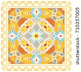 decorative abstract colorful...   Shutterstock .eps vector #710357005