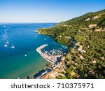 aerial  view of keri city in ... | Shutterstock . vector #710375971