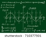 vintage education and... | Shutterstock .eps vector #710377501
