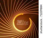 vector optical fibers | Shutterstock .eps vector #71039884