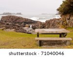 A Picnic Table With Gorgeous...