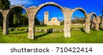 religious monuments of italy  ... | Shutterstock . vector #710422414
