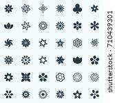vector illustration set of... | Shutterstock .eps vector #710439301