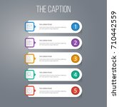 outline social set of start ...   Shutterstock .eps vector #710442559