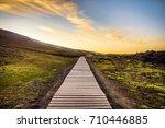 beautiful scenic landscape of...   Shutterstock . vector #710446885