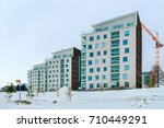 new complex of apartment... | Shutterstock . vector #710449291