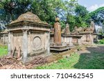tombs of south park street... | Shutterstock . vector #710462545