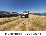 off road expedition  mountain... | Shutterstock . vector #710463145