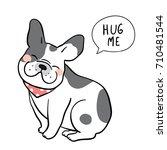 vector illustration character... | Shutterstock .eps vector #710481544