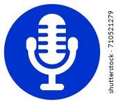 illustration of blue circle... | Shutterstock .eps vector #710521279