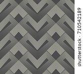 seamless zig zag pattern.... | Shutterstock .eps vector #710542189