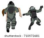 bomb disposal expert cartoon...