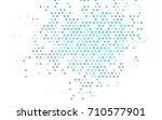 light blue vector abstract... | Shutterstock .eps vector #710577901