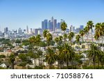 los angeles  california  usa... | Shutterstock . vector #710588761