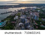august 23  2017   aerial view... | Shutterstock . vector #710602141