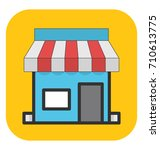 store vector icon | Shutterstock .eps vector #710613775