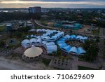 august 23  2017   aerial view... | Shutterstock . vector #710629609