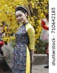 ho chi minh  vietnam   16 jan... | Shutterstock . vector #710642185